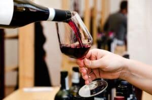 kalorier i rött vin