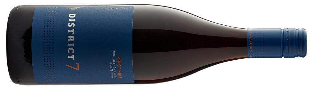 District 7 pinot noir från familjeägda vinproducenten Scheid Family Wines från Monterey, Kalifornen, USA