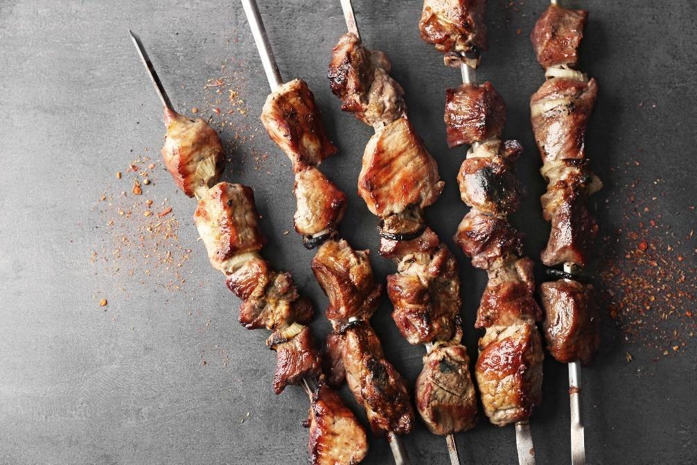 Fläskspett provencale stil matförslag till pinot noir.