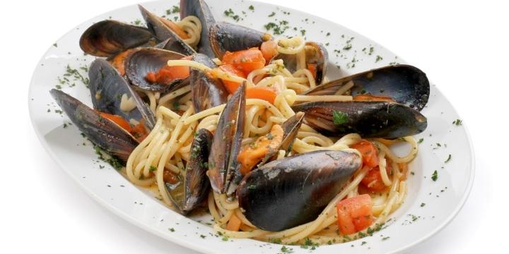 Skaldjurspasta med musslor