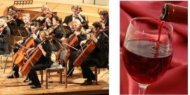 Vinets smak påverkas av musik