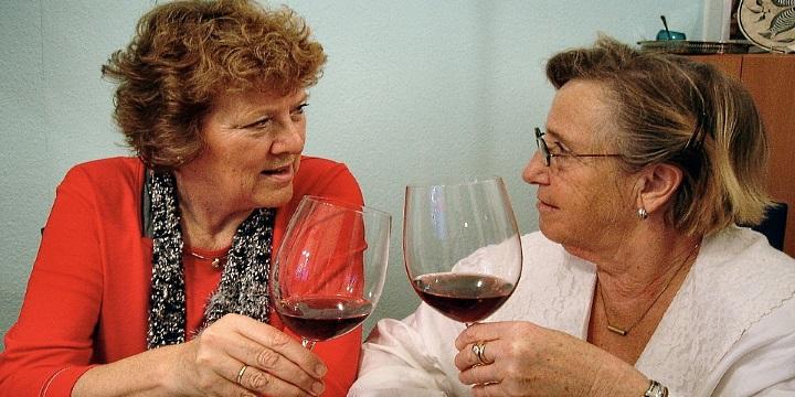 blir man tjock av vin