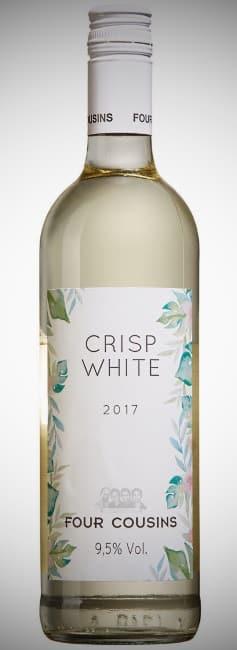 flaska vitt vin Crisp White