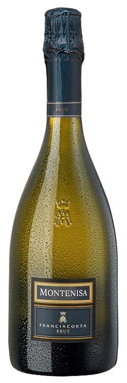 en flaska Franciacorta från The wine company