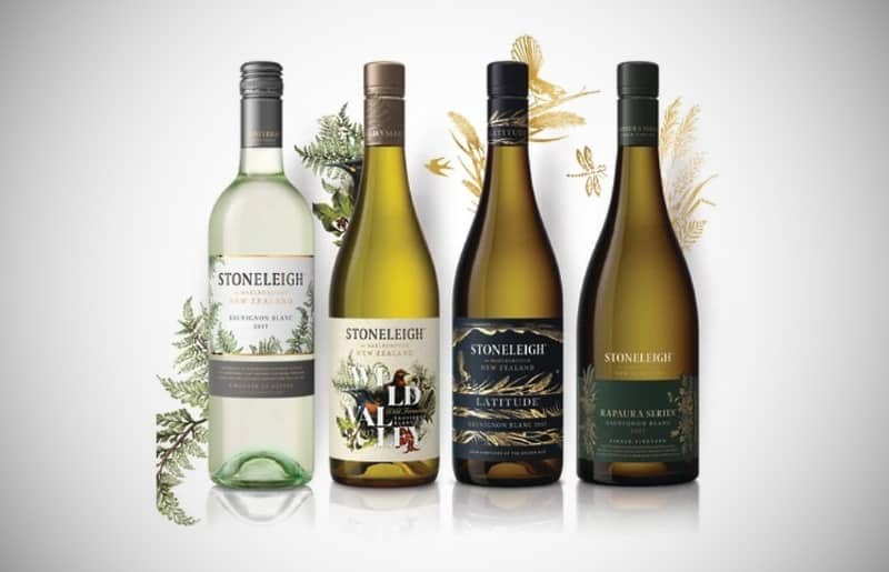 4 flaskor vitt vin Stoneleigh