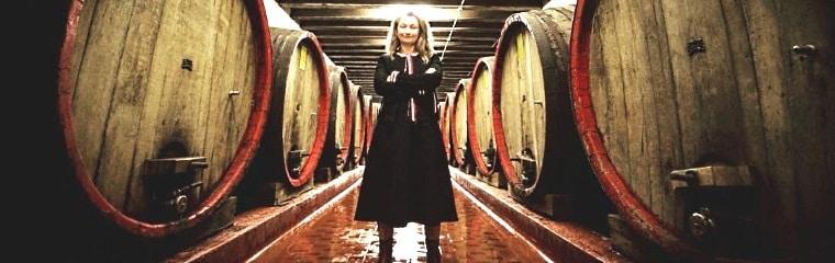 vinamakerskan Cristiana Bettili sin vinkällare