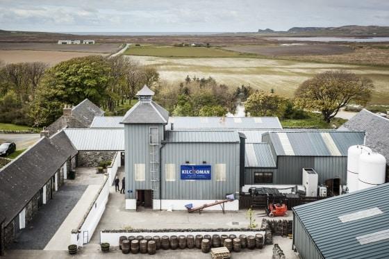 destilleriet Kilchoman i Rockside, på Irland