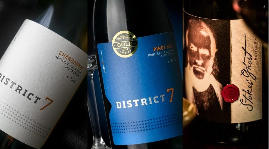 Winemaker 's dinner och de tre vinerna som skulle provas
