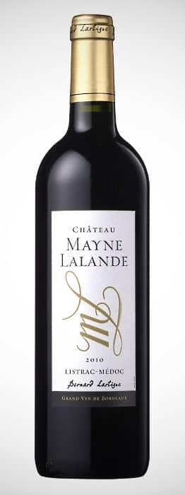 Helgmiddag och en flaska vin Chateau Mayne Lalande