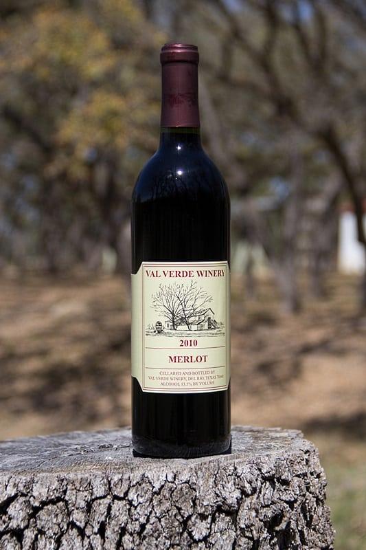 Texas en falska Merlot vin