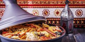 Gott! Marockansk Tagine & Petite Sirah!