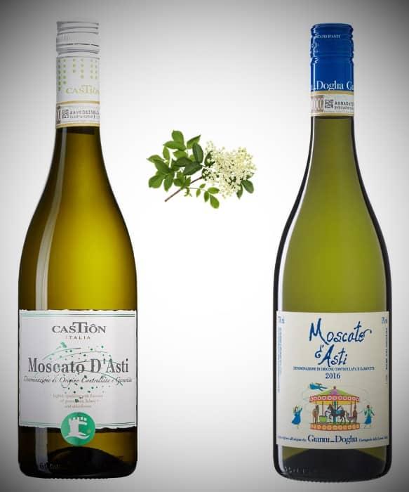 2 olika vintips på Moscato