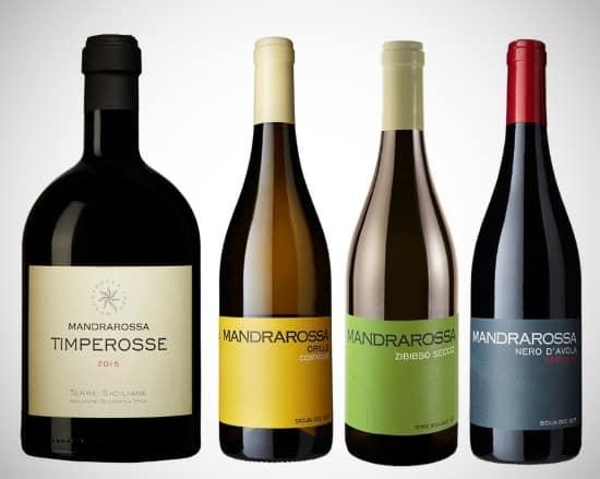 Sicilien: 4 viner från Mandrarossa