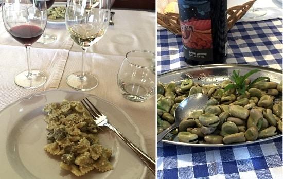 Sicilien: två rätter med favabönor