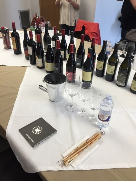 Sicilien: vinrpovning av 18 viner