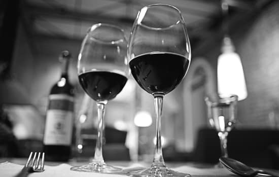 Star Wine List: ett dukat restaurangbord