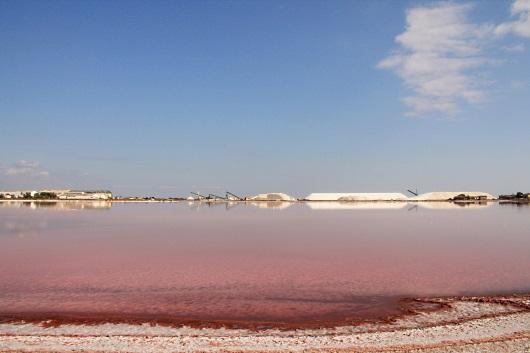 Provence: de rosa saltsalinerna