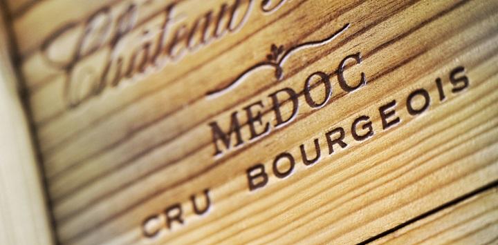 Médoc: cru trälåda