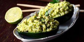 Lätt och friskt – krämigt avokadoris och Vinho Verde