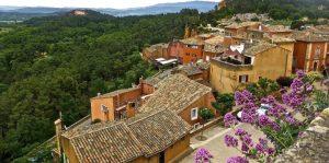 Roussillon: ockra staden