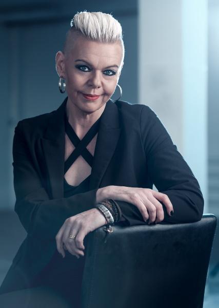 Zebra-vin - Annelie Sandström, konstnär