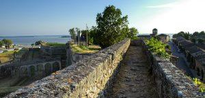 Bourg och Blaye: utsikt över staden Bourg