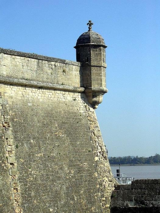Bourg och Blaye: fästning