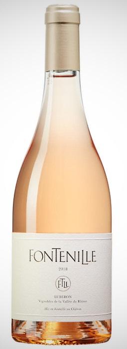 Roséviner: flaska Fontenille