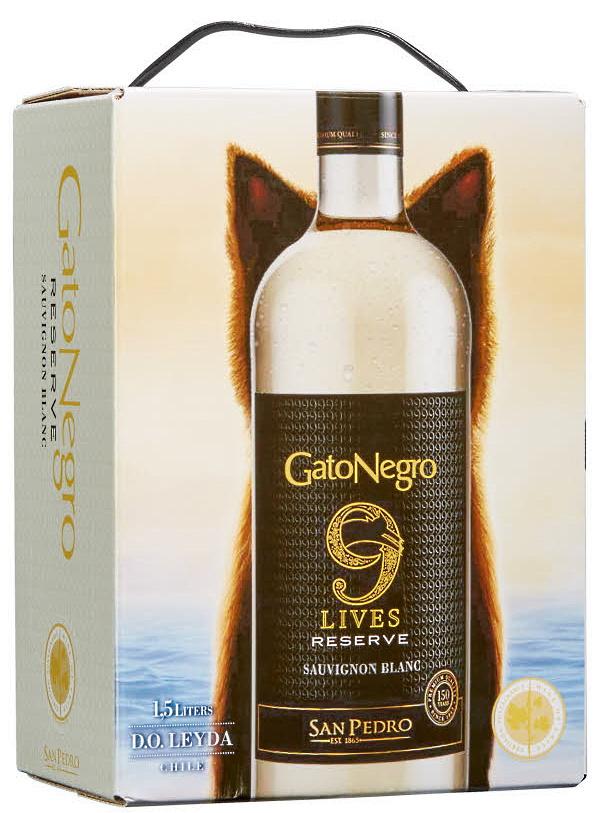 boxviner - mindre box gato negro