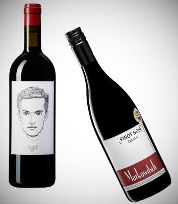 Österrike - de två röda vinerna
