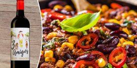 Het Chili Con Carne och prisvärda 3 Amigos!