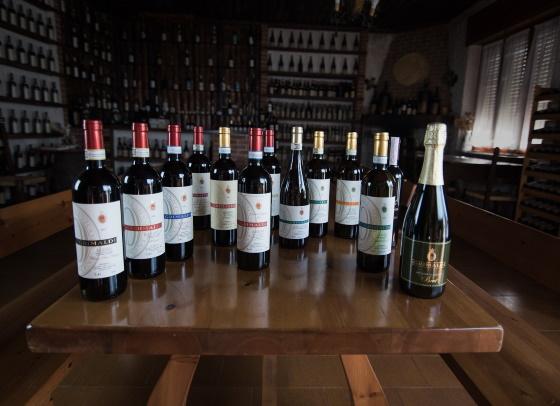 dolcetto - ett urval viner i flaskor