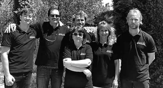 Biodynamskt - Bernards team på vingården