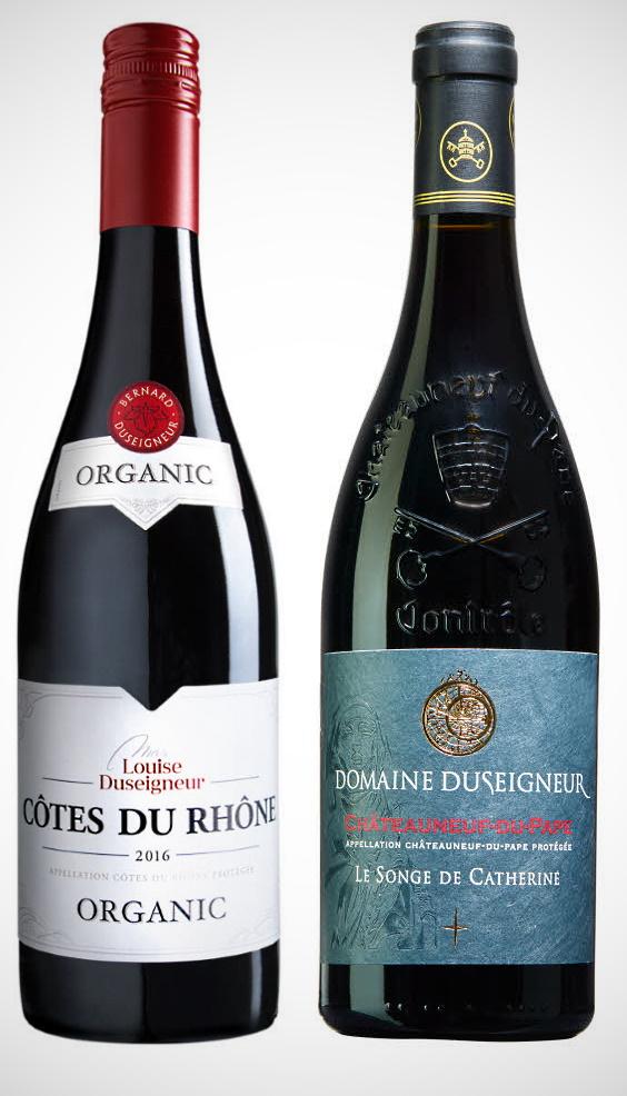 Biodynamiskt - Bernards 2 viner