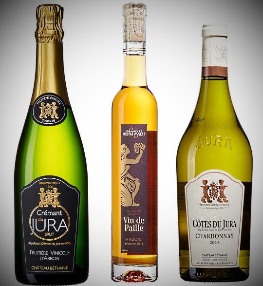 Jura - tre viner som vi provar