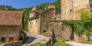 Jura en pittoresk medeltidsby
