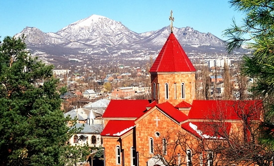 Georgien kyrka