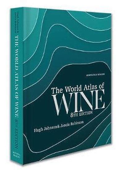 jlklappar - boken Atlas of Wine