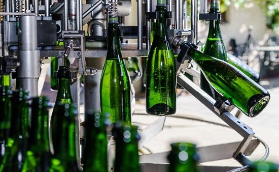 Bubbel - flaskor buteljeras