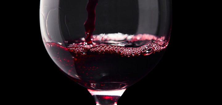 tanniner - ett glas rött