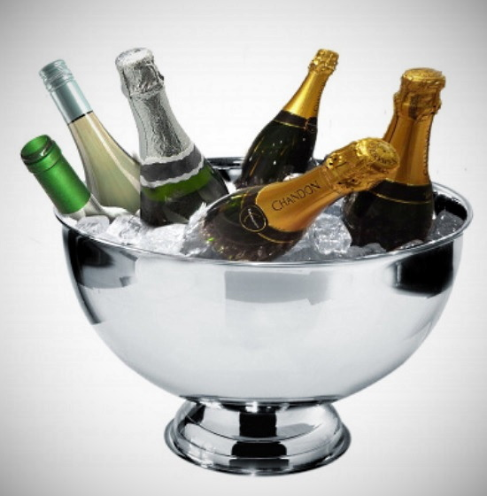 julklappar - champagnekylare
