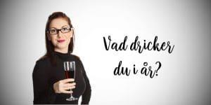 trendigt - en kvinna med vinglas