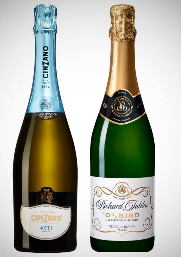 lågalkoholviner - champagne