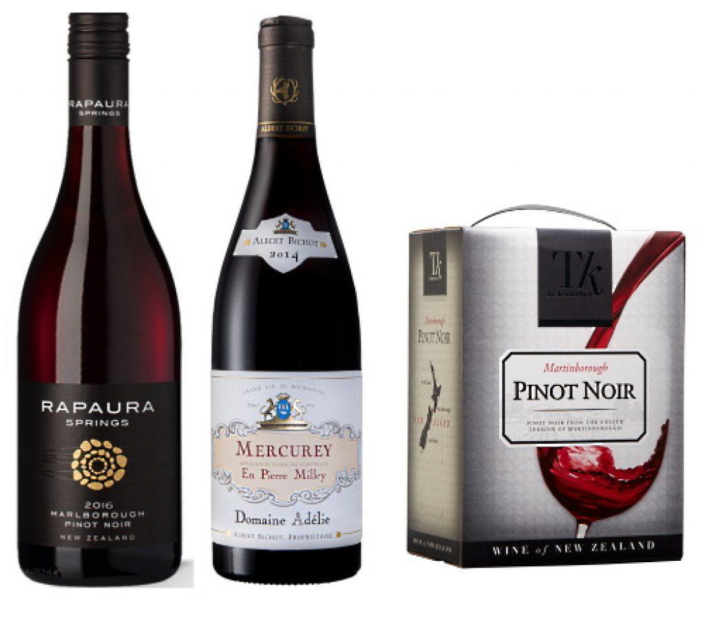 Pinot Noir - 2 flaskor och en box