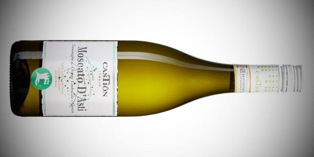 Castiôn Moscato d'Asti - en flaska