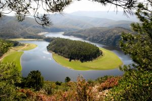 Extremadura_Meander of Alagon river