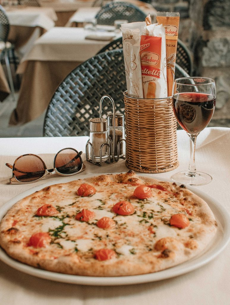 Vino Nobile - San Claudio med mat