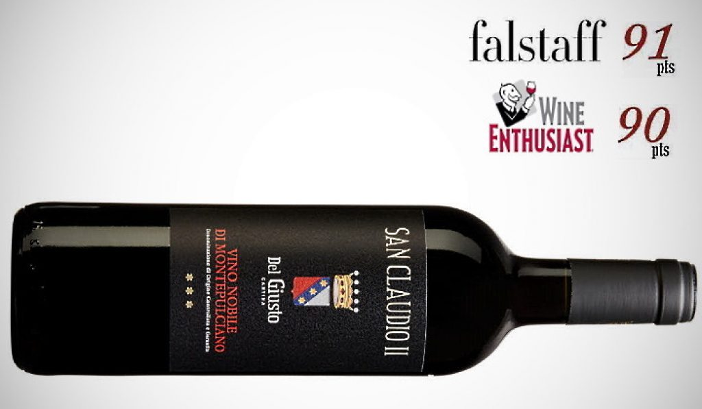 Vino Nobile - flaska san claudio