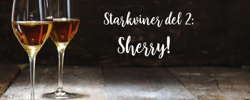 sherry - 2 glas sherry