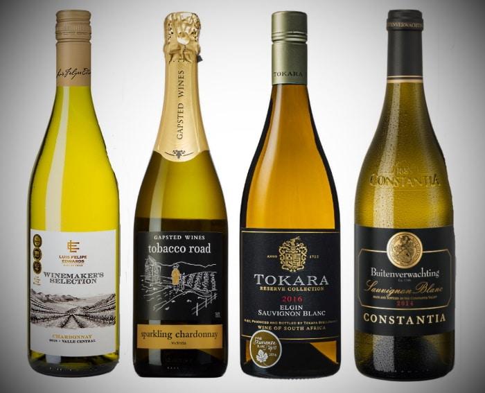 de fyra första vinerna